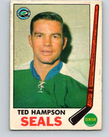 1969-70 O-Pee-Chee #86 Ted Hampson  Oakland Seals  V1387