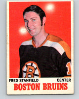 1970-71 O-Pee-Chee #5 Fred Stanfield  Boston Bruins  V2424