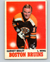 1970-71 O-Pee-Chee #10 Ace Bailey  RC Rookie Boston Bruins  V2436