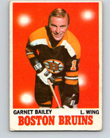 1970-71 O-Pee-Chee #10 Ace Bailey  RC Rookie Boston Bruins  V2437