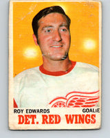 1970-71 O-Pee-Chee #21 Roy Edwards  Detroit Red Wings  V2467