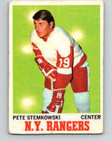 1970-71 O-Pee-Chee #25 Pete Stemkowski  Detroit Red Wings  V2476