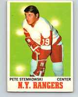 1970-71 O-Pee-Chee #25 Pete Stemkowski  Detroit Red Wings  V2477