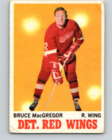 1970-71 O-Pee-Chee #27 Bruce MacGregor  Detroit Red Wings  V2480
