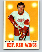 1970-71 O-Pee-Chee #30 Billy Dea  Detroit Red Wings  V2486