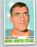 1970-71 O-Pee-Chee #48 Norm Beaudin  RC Rookie Minnesota North Stars  V2529