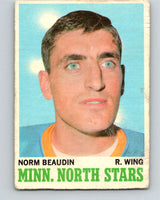 1970-71 O-Pee-Chee #48 Norm Beaudin  RC Rookie Minnesota North Stars  V2530