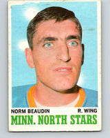 1970-71 O-Pee-Chee #48 Norm Beaudin  RC Rookie Minnesota North Stars  V2531