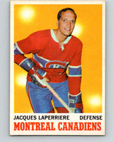 1970-71 O-Pee-Chee #52 Jacques Laperriere  Montreal Canadiens  V2538
