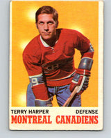 1970-71 O-Pee-Chee #53 Terry Harper  Montreal Canadiens  V2539