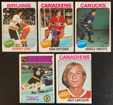 1975-76 O-Pee-Chee NHL Hockey Complete Set 1-396 Ex-Mt *0166