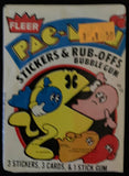 1980 Fleer Pac Man Video Game Sealed Wax Hobby Trading Pack PK-16