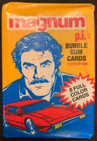 1983 Donruss Magnum P.I. Tom Selleck Sealed Wax Hobby Trading Pack PK-23