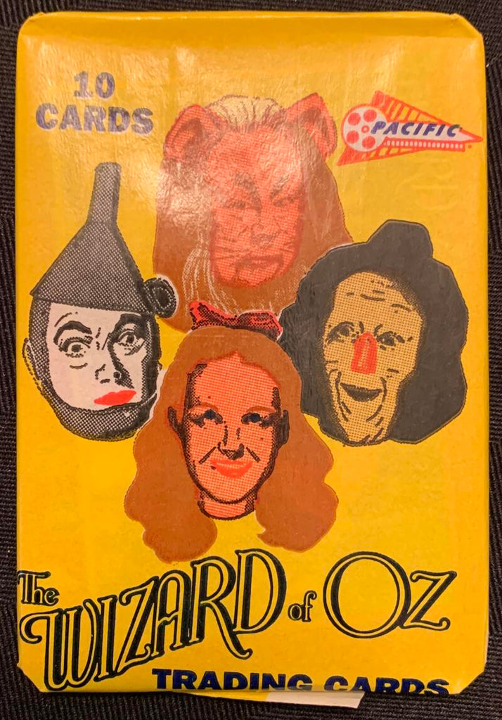 1990 Pacific The Wizard of Oz Sealed Wax Hobby Trading Pack PK-24