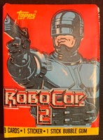 1990 Topps RoboCop 2 Movie Sealed Wax Hobby Trading Pack PK-28