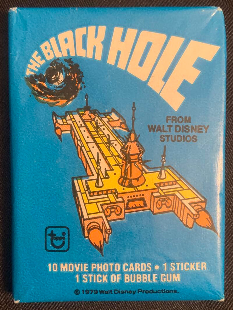 1979 Topps The Black Hole Movie Sealed Wax Hobby Trading Pack PK-31