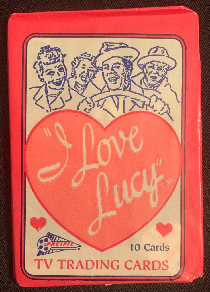 1991 Pacific I Love Lucy TV Show Sealed Wax Hobby Trading Pack PK-35