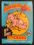 1987 Garbage Pail Kids Series 8 Sealed Wax Hobby Trading Pack PK-55
