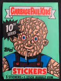 1987 Garbage Pail Kids Series 10 Sealed Wax Hobby Trading Pack PK-61