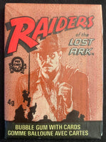 1981 Topps Raiders of the Lost Ark Sealed Wax Hobby Trading Pack PK-63