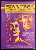 1979 Topps Star Trek The Motion Picture Sealed Wax Hobby Trading Pack PK-65
