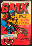 1984 Donruss BMX Bikes & Racing Sealed Wax Hobby Trading Pack PK-69