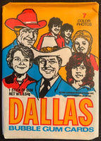 1981 Donruss Dallas TV Show Sealed Wax Hobby Trading Pack PK-73