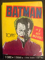 1989 Topps Batman Series 1 Sealed Wax Hobby Trading Pack PK-74