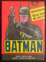 1989 Topps Batman Series 2 Sealed Wax Hobby Trading Pack PK-75