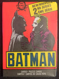 1989 Topps Batman Series 2 Sealed Wax Hobby Trading Pack PK-76