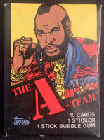 1983 Topps The A-TEAM Mr. T Sealed Wax Hobby Trading Pack PK-77