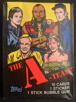 1983 Topps The A-TEAM Sealed Wax Hobby Trading Pack PK-78
