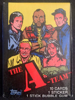 1983 Topps The A-TEAM Sealed Wax Hobby Trading Pack PK-79