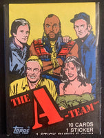 1983 Topps The A-TEAM Sealed Wax Hobby Trading Pack PK-80