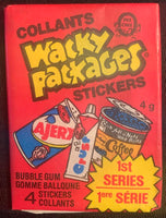 1979 OPC Wacky Packagers Series 1 Sealed Wax Hobby Trading Pack PK-84