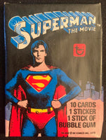 1979 Topps Superman The Movie Sealed Wax Hobby Trading Pack PK-90