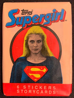 1984 Topps Supergirl Movie Sealed Wax Hobby Trading Pack PK-96