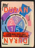 1985 Topps Duran Duran Music Sealed Wax Hobby Trading Pack PK-103