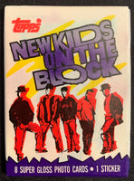 1989 Topps New Kids on Block Series 1 Sealed Wax Hobby Trading Pack PK-104