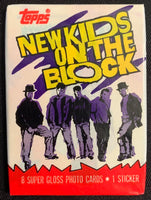 1989 Topps New Kids on Block Series 2 Sealed Wax Hobby Trading Pack PK-106