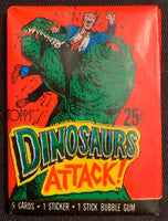 1988 Topps Dinosaurs Attack Sealed Wax Hobby Trading Pack PK-122