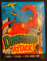 1988 Topps Dinosaurs Attack Sealed Wax Hobby Trading Pack PK-127