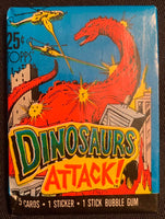 1988 Topps Dinosaurs Attack Sealed Wax Hobby Trading Pack PK-128