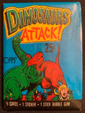 1988 Topps Dinosaurs Attack Sealed Wax Hobby Trading Pack PK-129