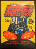 1980 OPC Star Wars Empire Strikes Back Sealed Wax Hobby Trading Pack PK-132