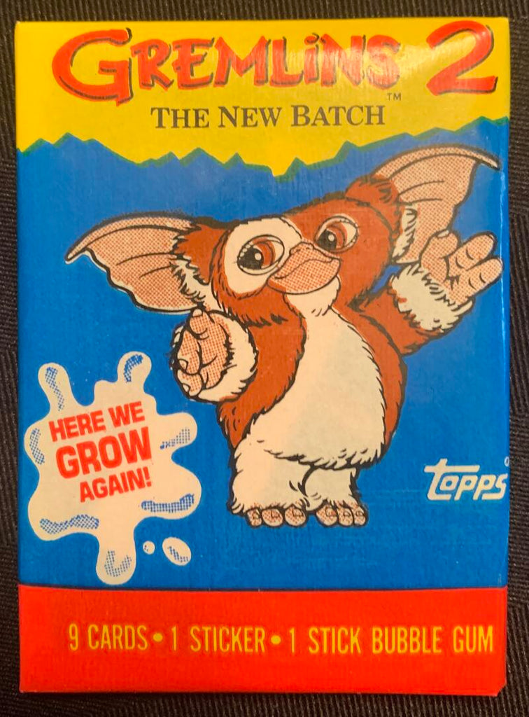 1990 Topps Gremlins 2 Movie Sealed Wax Hobby Trading Pack PK-141