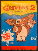 1990 Topps Gremlins 2 Movie Sealed Wax Hobby Trading Pack PK-142