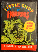 1986 Topps Little Shop of Horrors Movie Sealed Wax Hobby Trading Pack PK-161
