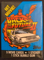 1989 Topps Back To The Future 2 Sealed Wax Hobby Trading Pack PK-162