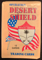 1991 Pacific Operation Desert Shield Sealed Wax Hobby Trading Pack PK-165